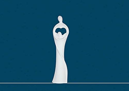 """Dekofigur Skulptur Sculpture Paar \""""Im Herzen\"""" von CH Trading"""