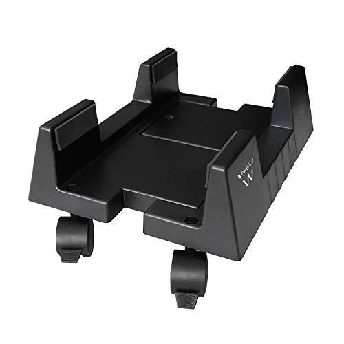 Ewent EW1290 - Soporte Cart CPU Holder, Escritorio, 8 kg, Negro, ABS sintéticos, Horizontal