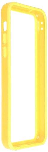 Horny Protectors iP5c-4012c TPU Silikon Schutzhülle für Apple iPhone 5c (nicht 5S) transparent/gelb Gelb