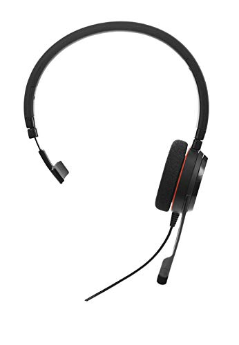 Jabra Evolve 20 Mono Cuffie con Cancellazione del Rumore e Ottimizzate per Unified Communications