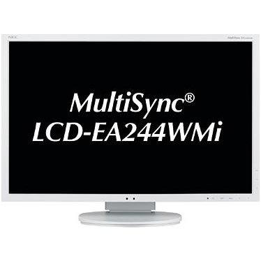 NEC MultiSync EA244WMi - LED monitor - 24