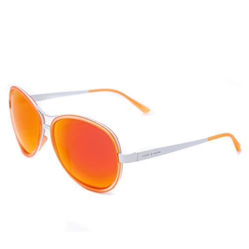 Italia Independent Damen 0073-055-000 Sonnenbrille, Orange (Naranja), 61.0