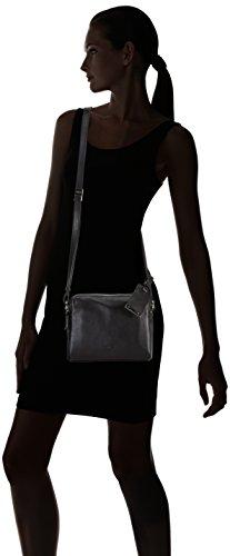 BREE Avignon 5 Damen Umhängetaschen 30x21x10 cm (B x H x T) Schwarz (Black 900)