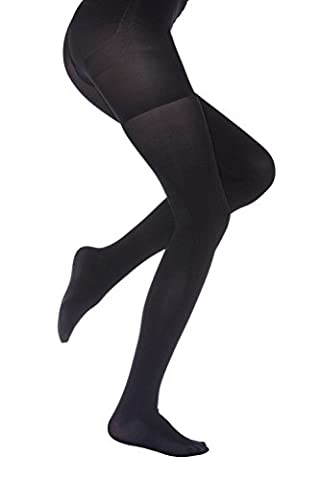 Charnos Killer Figure Opaque Tights - Black
