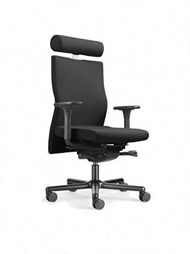 Löffler Lezgo 7350 Bürostuhl, ergonomischer Drehstuhl 3D-Sitztechnologie ErgoTop