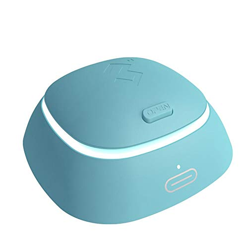 Ecisi Mini Lens Cleaner Kit, Myopia-Augenpflege-Kit, elektrische Waschmaschine USB-Aufladung Auto Mute Clean Komfortabel und atmungsaktiv, tägliche Pflege Schnelle Reinigung Neu