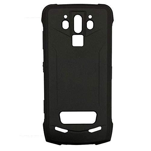 Lankashi TPU Silikon Tasche Hülle Für Doogee S90 / S90 Pro 6.18 inch Handy Schutz Case Cover Weiche Etui Schutzhülle Handytasche (Farbe: Schwarz)