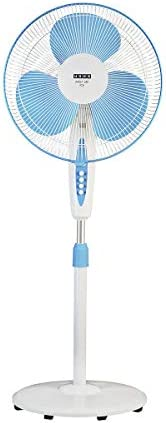 Usha Mist Air Icy 400mm Pedestal Fan (Blue)