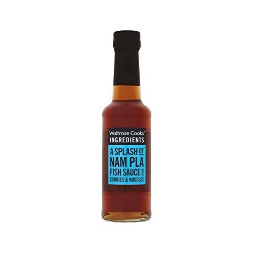 Ingrédients Nam Pla Sauce De Poisson Waitrose De 150Ml De Cuisiniers - Paquet de 6