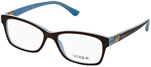 4c77e09698eb38 VOGUE Monture lunettes de vue VO 2765B 2011 Marron Bleu opale 53MM