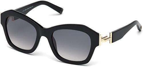 Occhiali da sole tod's to0195 c53 01b (shiny black / gradient smoke)