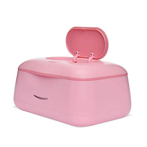 Zmsdt 24H Konstante Temperatur Feuchttücher Maschine Baby Große Kapazität Warme Tücher Heizbox Baby Tücher Heizung (Farbe : Pink)
