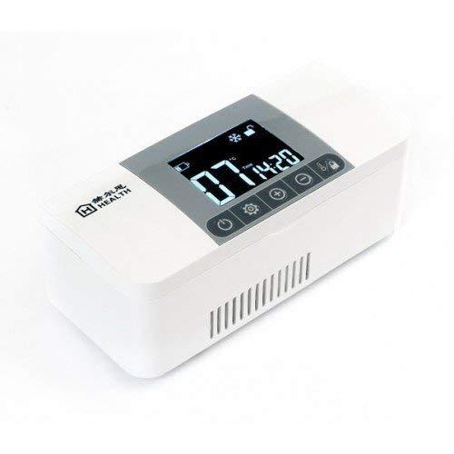 LANGSEE Leistungsstarke Kältetechnik Insulin Kühlbox Portable Kühlschrank Medizin Small Kühlschrank Car, Reisen, Home for Medical Treatment