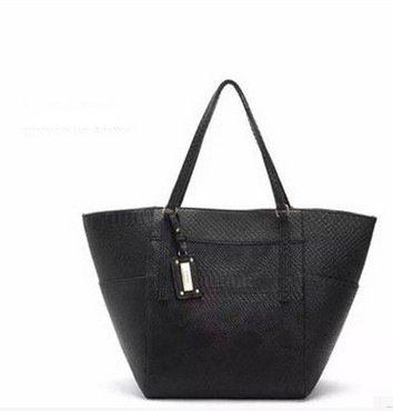 Meoaeo Neue Tragbare Schultertasche Handtasche Shopping Bag black