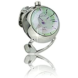 Ring watch Ladies MOTHER OF PEARL