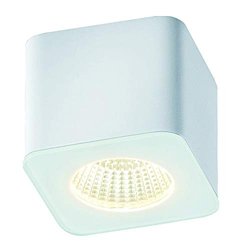 Helestra Oso LED Deckenleuchte, weiß matt LxBxH 6,5x6,5x5,5cm 2800K 630lm