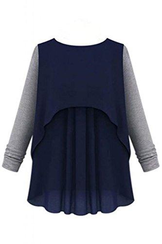 Dear-lover - Sweat-shirt - Femme M Multicolore - Bigarré