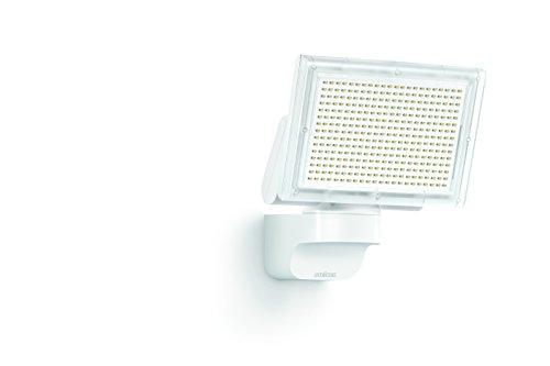 Steinel LED-Strahler XLED Home 3 Slave weiß, 18 W LED-Scheinwerfer, 1426 lm, für Zufahrten, Innenhöfe und Gärten