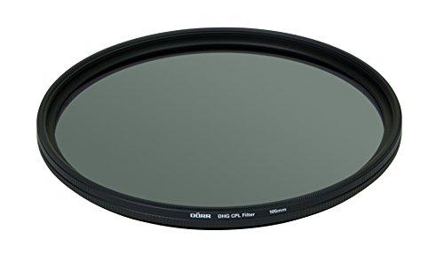 Dörr DHG Zirkular Polfilter (105mm) mit extrem Flacher Filterfassung und Beidseitige 10-Fach Mehrschichtvergütung