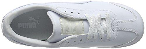 Puma Herren Roma Basic Low-Top Weiß (White-Light Gray 21)