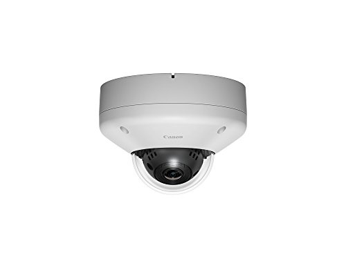 Canon 0310C001 VB-M640VE Fixed Dome Camera, Weiß