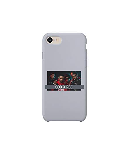 Sob x Rbe Rap Music Legend Gang Team Pose_MA0985 for iPhone 6, Protective Phone Mobile Hülle Kompatibel mit Schutzhülle aus Hartplastik for Compatible with iPhone 6 iPhone 6s (Team Mobile Iphone 6)