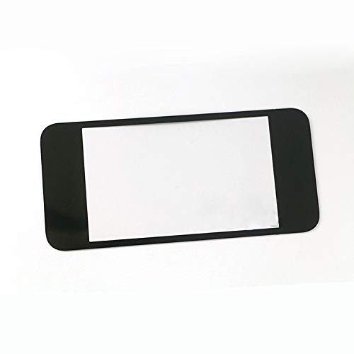 Top Surface Lens LCD Mirror Front Screen Lens Lens for Nintendo New 2DS XL LL Protector Cover Black Mirror Screen Lcd Protector