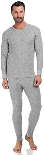 Mark-on Grey Thermal Underwear For Men
