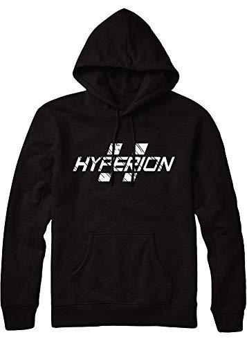 HYPSHRT Herren Hoodie Hyperion C112240 Schwarz L