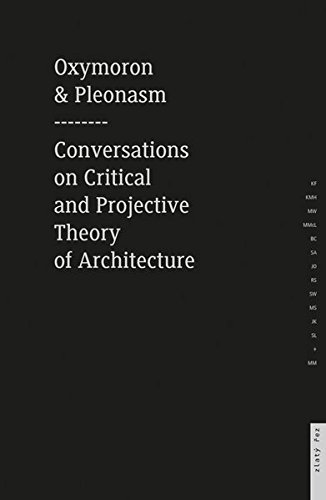 Oxymoron and Pleonasm. Conversation on Critical and Projective: 1