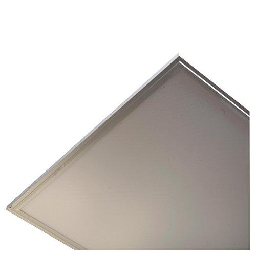 Preisvergleich Produktbild ledco LED Panel Licht/Form: Quadratisch Oder rechteckig/Leistung: 40W oder 72W/Farbe: Warm Weiß oder natur White oder Cool weiß/Größe: 595x 595x 9mm oder 1195x 295x 9mm oder 1195x 595x 9mm/Gestell: silber oder weiß..., 1195x595x9mm / Pack of 3, 4000-4500K Natural White, 0