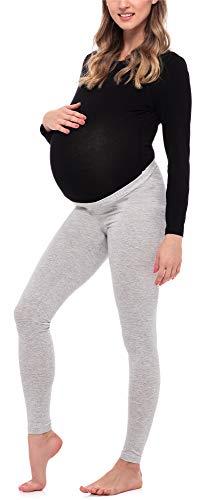 Be Mammy Leggins Premamá Largos Embarazo Lactancia BE20-253(Melange,