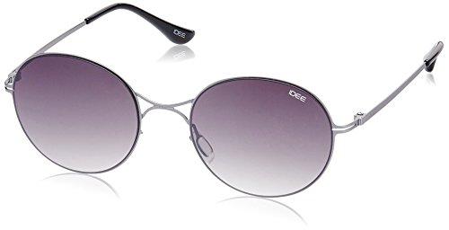 IDEE Gradient Round Unisex Sunglasses - (IDS2063C2SG|51|Green Gradient lens) image