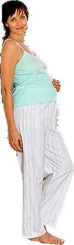 Pyjama grossesse 863 (Medium, Aqua)