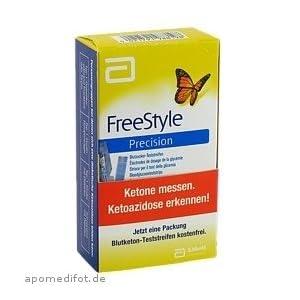 31Z834UehjL. SS300  - Freestyle Precision Blutzuckerteststreifen, 100 St