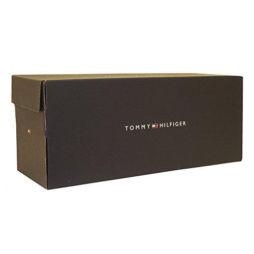 Tommy Hilfiger Sommer Cognac Ledersandalen, Marine UK 9 -