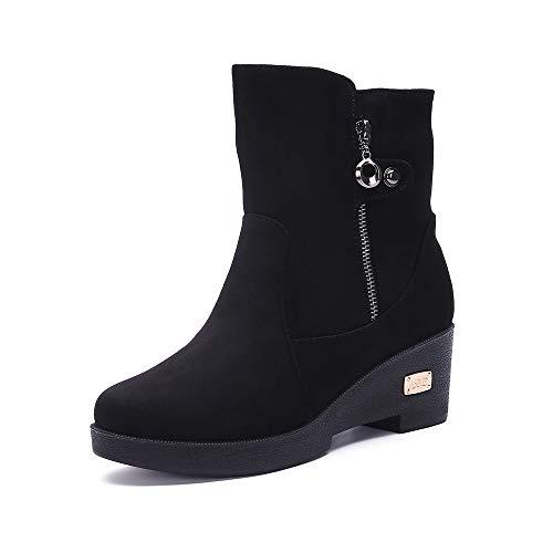 Damen Winterschuhe Outdoor Schneestiefel Warm Gefüttert Winterstiefel Rutschfest Stiefel Schuhe