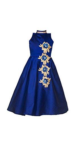 Fashion Dream Baby Girls Birthday Party wear Long Frock Dress (Size 13-14 Year Girls)