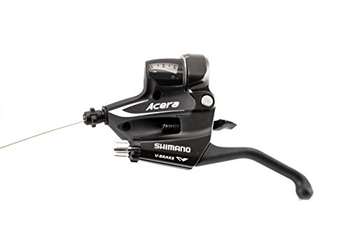 Shimano ST-M360 ACERA Brems Schalthebel Shifter 3 Fach Links Rapid Fire Schwarz -