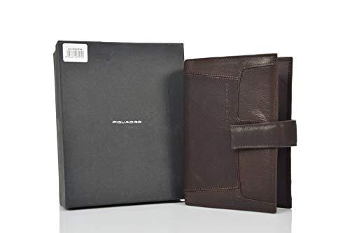 Piquadro Diary Brown Leather
