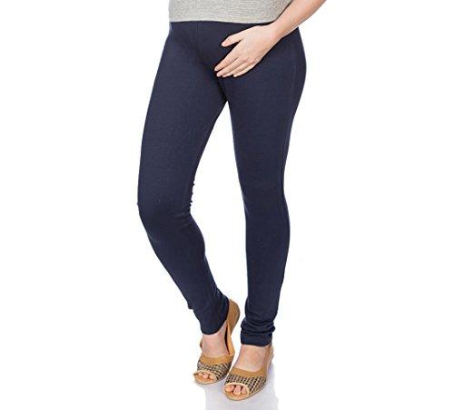 Goldstroms Women's Maternity Pant/Legging (Navy Blue, 2XL)