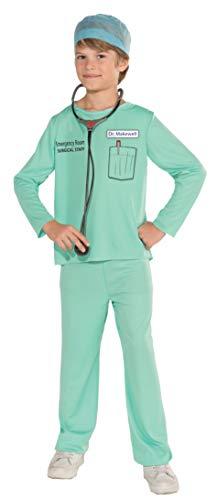 Kostüm Room Emergency - Forum Novelties Emergency Room Surgeon Costume, Child Medium