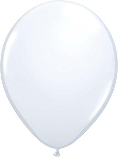 Luftballons weiß 100er Pack (100 Stück Luftballons)