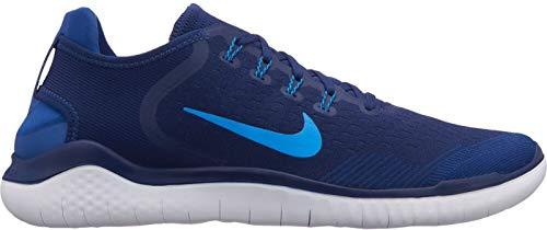 Nike Men s Free Rn 2018 Running Shoes Void Photo Blue Indigo Force 403 0c79719f4ea