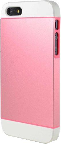 Cygnett Alternate Two-Tone Dockable Case for iPhone 5 (Pink/White)