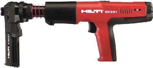 Hilti DX 351 Fully Automatic Powder-Actuated Tool with X-MX 32 Magazine - 374308 by HILTI