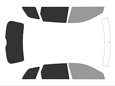 Variance Auto va_k-3-55|799|3708-1-35 Films Teintés pour Auto Kit Complet, Black 35/05