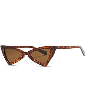 Kimorn Gafas De Sol Para Mujer Bisagras De Metal Ojos De Gato Triangle Marco De Plástico K0571
