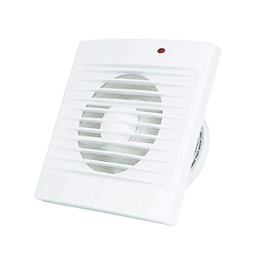 Hon&Guan Aspiratore Bagno 120mm - Ventilatore Estrattore Silenzioso con Zanzariera , 150m³/h