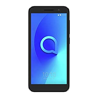 Unlocked Alcatel 1 (5033x) Mobile Smartphone - Silver/Black (For use with any Sim Card Worldwide)